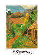 Chemin à Papeete Reproduction d'art par Paul Gauguin