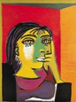 Dora Maar Reproduction d'art par Pablo Picasso