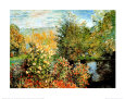 Stiller Winkel im Garten von Montgeron Art Print by Claude Monet