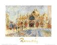Piazza San Marco, Venice Lámina por Pierre-Auguste Renoir