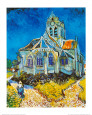 Church at Auvers, c.1894 Kunsttrykk av Vincent van Gogh