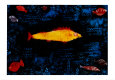 The Golden Fish, c.1925 Art Print by Paul Klee
