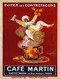 Cafe Martin 1921 Art Print by Leonetto Cappiello