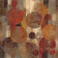 Abstrakte cirkler (dekorativ kunst) Posters
