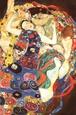Gustav Klimt Virgin Art Print Poster Plakat af Gustav Klimt