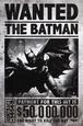 Batman Arkham Origins - Wanted plakat