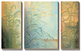 Ferns and Grasses Sada uměleckých pláten od Don Li-Leger