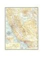 Mapas de California Posters