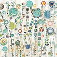 Abstrakte blomsterbilleder (dekorativ kunst) Posters