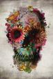 Flower Skull Póster