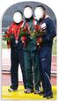 Olympic Photo Stand-In Postacie z kartonu