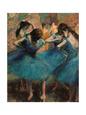 De blå dansere (Degas) Posters