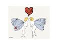 I Love You So, c. 1958 (angel) Umělecká reprodukce od Andy Warhol