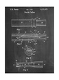 Duck Commander Duck Call Patent, Phil Robertson, Inventor Umělecká reprodukce
