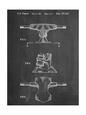 Skateboard Trucks Patent Reprodukcja