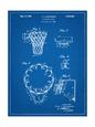 Basketball Goal Patent 1936 Reprodukcja