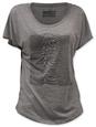 Juniors: Joy Division - Unknown Pleasures (dolman) T-shirt młodzieżowy (dopasowany krój)