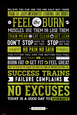 Motivation, sport Posters