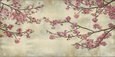 Lyserøde blomster (dekorativ kunst) Posters