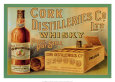 Cork Distilleries Co Ltd Whisky Reproduction d'art