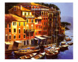 Mediterranean Port Art Print by Michael O'Toole