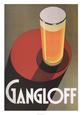 Mad og drikkevarer (vintagekunst) Posters