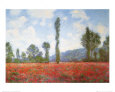 Field of Poppies Reproduction d'art par Claude Monet