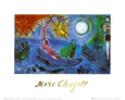 Le concert Reproduction d'art par Marc Chagall
