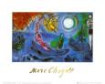 The Concert Kunsttryk af Marc Chagall