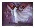 Angel Wings Kunsttryk af Laverne Ross