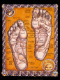 Reflexology Art Print by Robert Rosenthal
