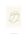Ugle Serigrafi af Pablo Picasso