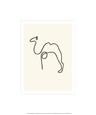 Kamelen Serigrafi af Pablo Picasso