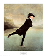 Reverend Robert Walker Skating on Duddin Kunstdruk van Sir Henry Raeburn