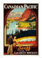 Canadian Pacific, Banff Art Print