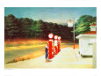 Gas 1940 Giclée-tryk af Edward Hopper