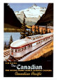 Canadian Pacific Train Konsttryck av Roger Couillard