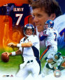 John Elway - Legends of the Game Composite - ©Photofile (Limited Edition) Foto