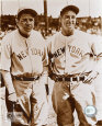 Babe Ruth and Lou Gehrig - Photofile Photo