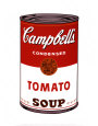 Soupe Campbell's I - Tomate, 1968 Reproduction d'art par Andy Warhol