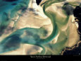 Banc de Sable Art Print by Yann Arthus-Bertrand