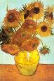 Solsikker, ca. 1888 Kunsttryk af Vincent van Gogh