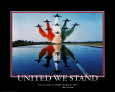 Patriotic United We Stand Art Print
