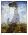 Madame Monet and Her Son Art Print by Claude Monet