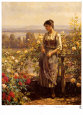 Ray of Sunshine Art Print by Daniel Ridgway Knight
