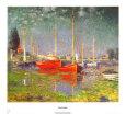 Argenteuil Lámina por Claude Monet