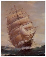 Romance of Sail Konsttryck av Frank Vining Smith