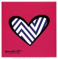 Zig Zag Love Kunsttryk af Romero Britto