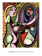 Girl Before a Mirror, c.1932 Art Print by Pablo Picasso