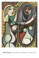 Girl Before a Mirror (Picasso) Poster